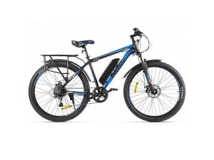 Электровелосипед (велогибрид) черно-синий Eltreco XT 800 new