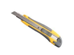 Нож с выдвижным лезвием пластм.упроч. 9мм Stayer Master